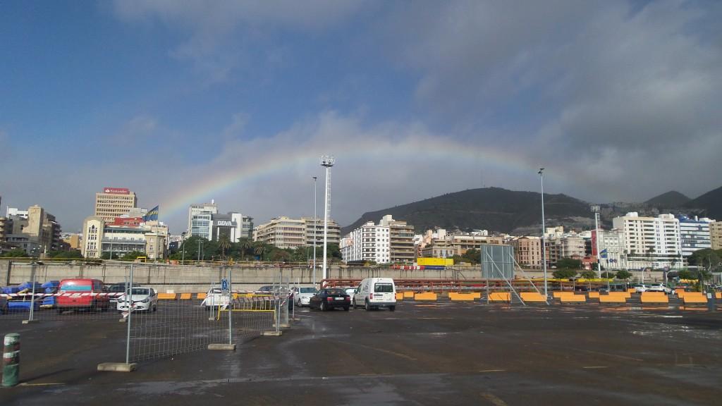 3 Las Palmas widziane z portu